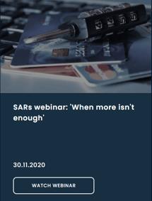 SARs webinar